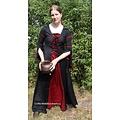 Leonardo Carbone Vestido Eleanora rojo-negro L, ¡oferta especial!