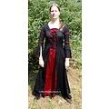 Leonardo Carbone Kleid Eleanora rot-schwarz L, Sonderangebot!