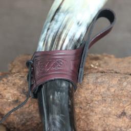 Trinkhorn Gürtelhalter Castagir rot