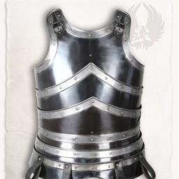 Coraza medieval Edward bronceado