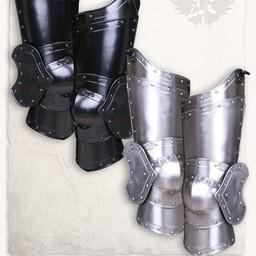 armadura medieval pierna Balthasar bronceado