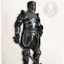 Medieval ben rustning Edward bruneret