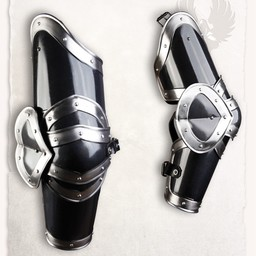 armadura medieval pierna Edward bronceado