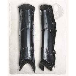 Armadura para pierna de Fafnir bronceada