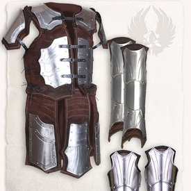 Mytholon Leather armor brigandine Fafnir complete set