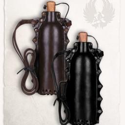botella de agua de color marrón Doran
