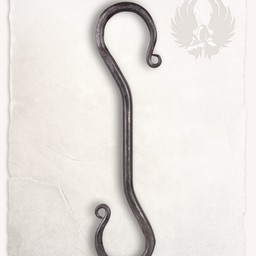 Hand-forged S-hook Gudrun large