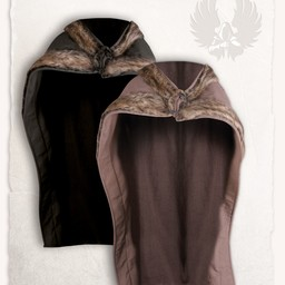Viking mantel Bjorn zwart