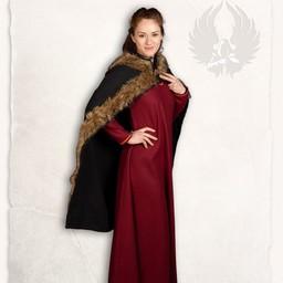 Viking cloak Bjorn black