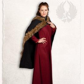 Mytholon manteau Viking Bjorn noir