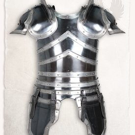 Mytholon LARP Rüstung Edward brüniert