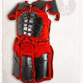 Mytholon Fafnir brigandine gebronsd rood