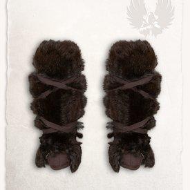 Mytholon Jambière Farald fourrure noire