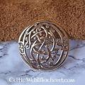 Bronze Urne style Broche Viking