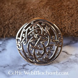 styl Viking broszka brąz Urnes