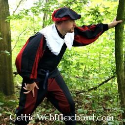 XVII-wieczny kołnierz Leonard biały