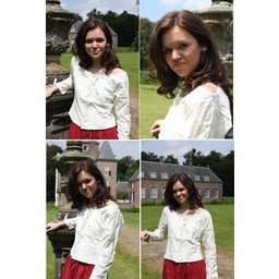 Blusa Andrea blanca