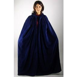 Płaszcz aksamitny Ilja niebieski