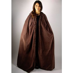 Płaszcz aksamitny Ilja brązowy