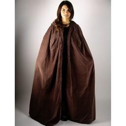 Płaszcz aksamitny Lily brązowy