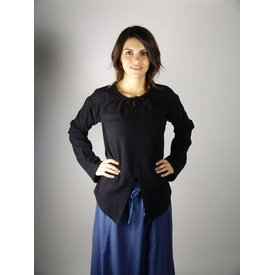 Leonardo Carbone Hemd Jane zwart
