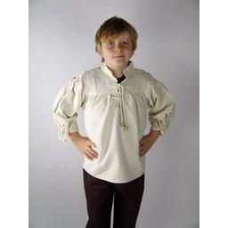 Camisa Duke para niño crema