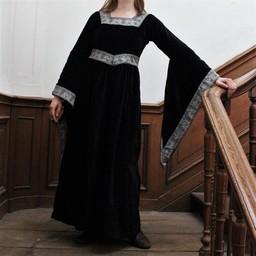 Klänning Anna Boleyn svart