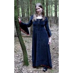 Kjole Branwen sort-rød