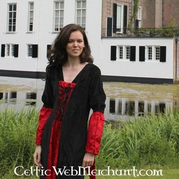 Kleid Lí Ban rot-schwarz