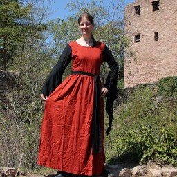 Sukienka Philona czarno-czerwona