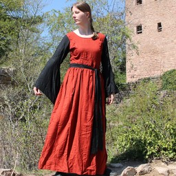 Kleid Philona schwarz-rot