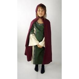 Płaszcz dziecięcy bawełniany zielony