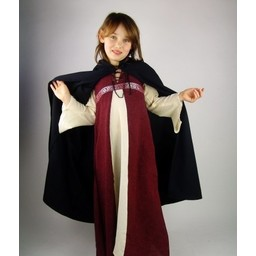 Cotton children's cloak black