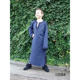 Keltisk drenges tunika Finn blå