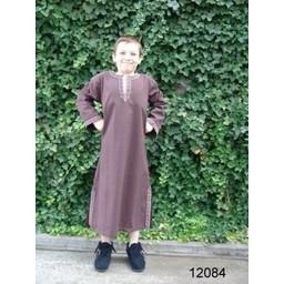 Celtic boy's tunic Finn dark brown