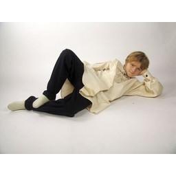 Children's trousers Edmund red-white
