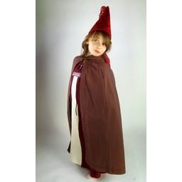Płaszcz dziecięcy Alexis brązowy