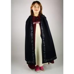 Children's cloak Alexis black