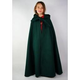 Płaszcz dziecięcy z kapturem czarny