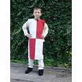 Leonardo Carbone Kinderoverkleed schaakbord wit-rood