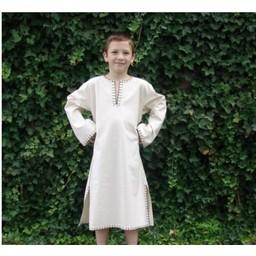 Children's tunic Jon honey brown