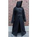Leonardo Carbone Lange jas zwart