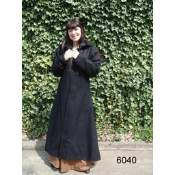 Lång kappa svart