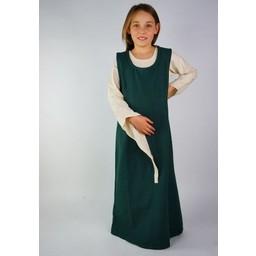Girl's surcotte Ella green