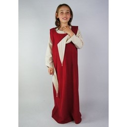 Girl's surcotte Ella red