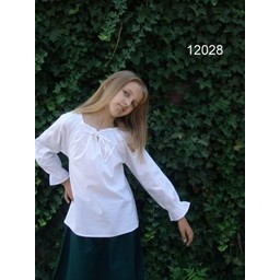 Bluzka dziewczęca Fleur biała