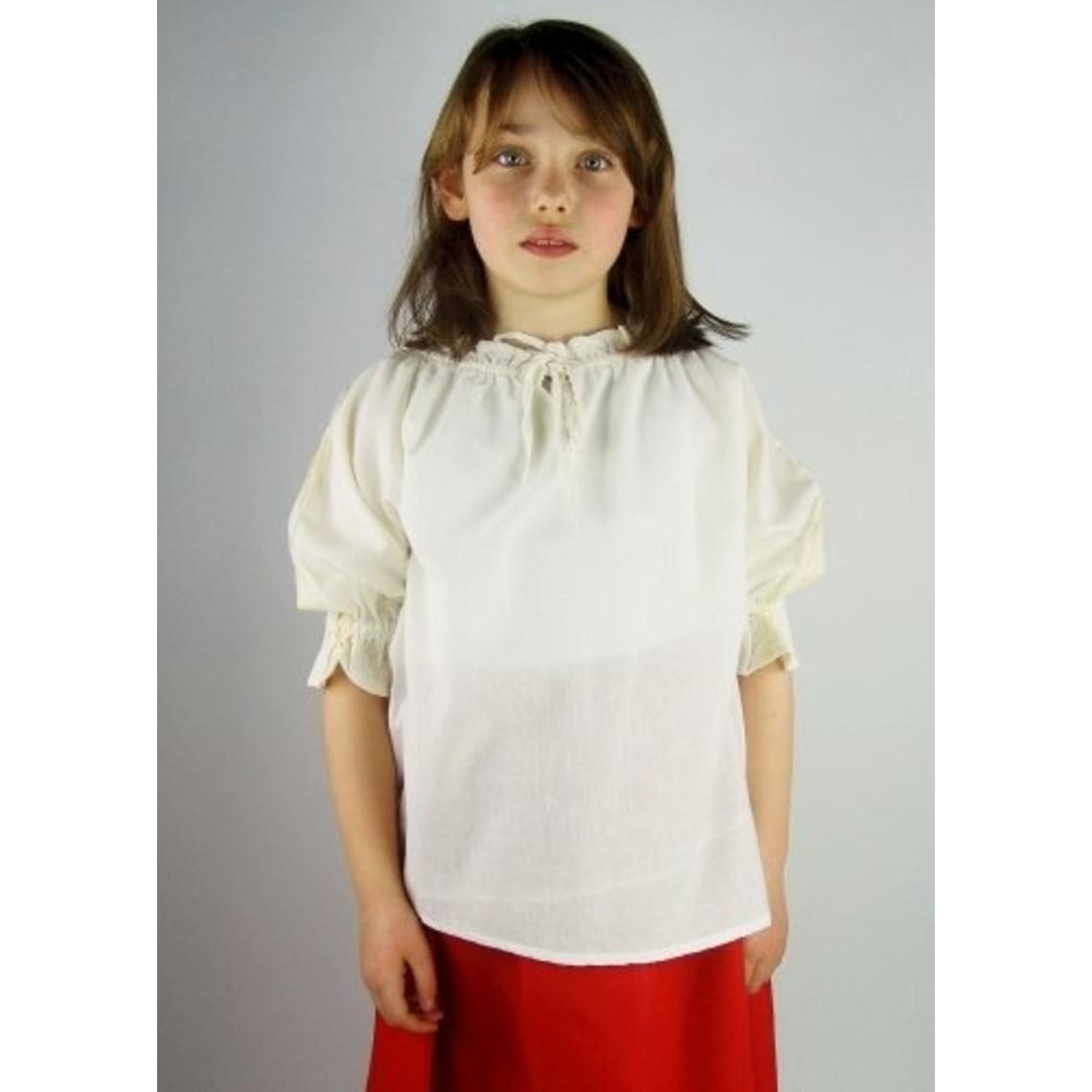 Leonardo Carbone Meisjesblouse Rosamund wit