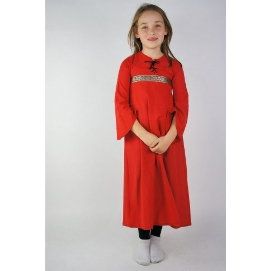 Leonardo Carbone Meisjesjurk Ariane, rood
