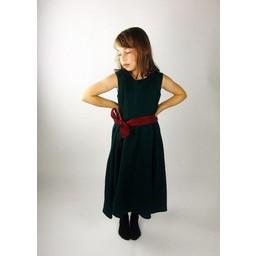Girl's dress Carmen green