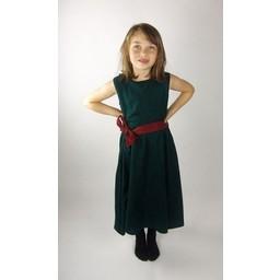 Flickans klänning Carmen grön